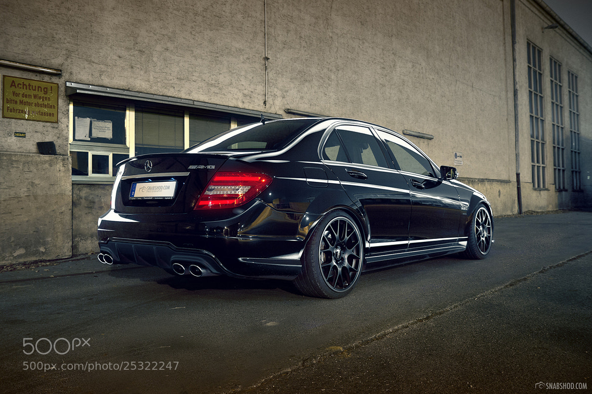 Photograph Mercedes-Benz C63 AMG - 6 by Daniel Böswald on 500px