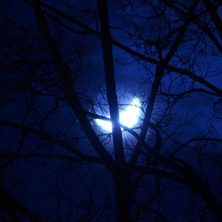 Moon, Nikon D7000, AF Zoom-Nikkor 70-300mm f/4-5.6D ED