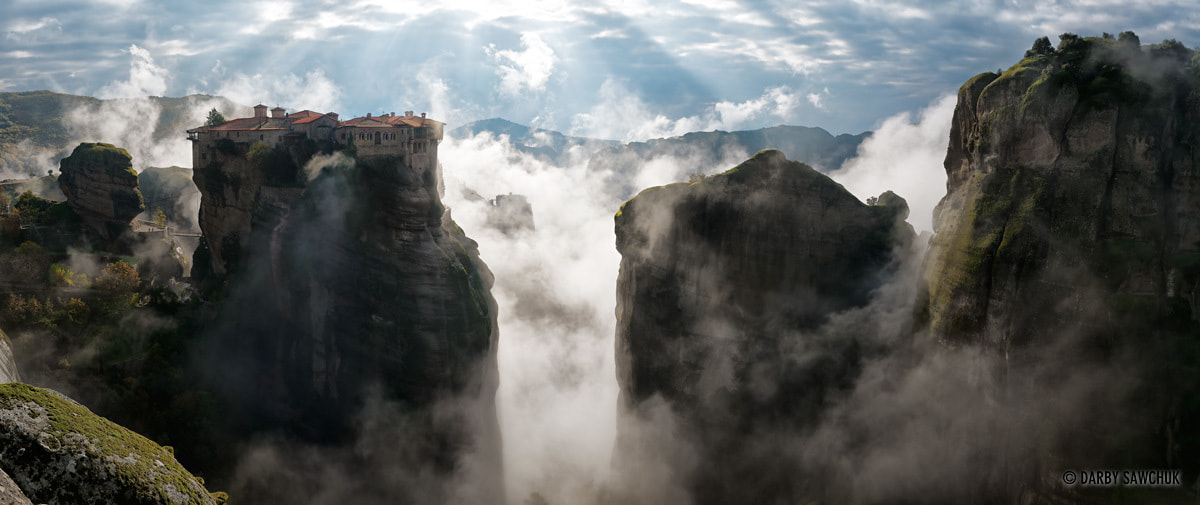 Photograph Monastery above the Clouds by Darby Sawchuk on 500px