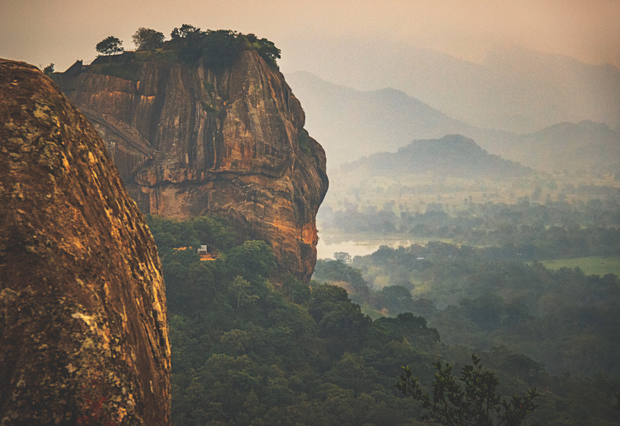 Sigiriya, from Pidurangala #3 by Son of the Morning Light on 500px.com