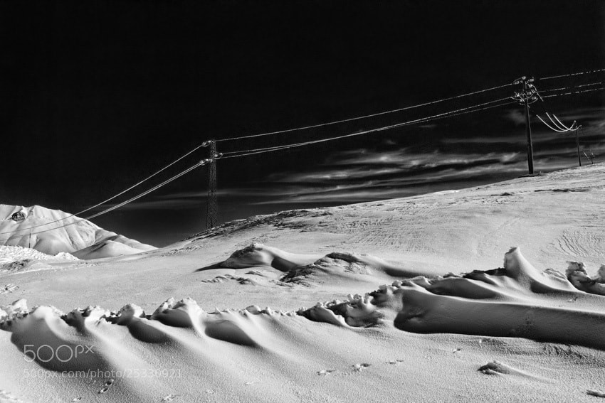 Photograph Snow Drifts by mario pignotti on 500px
