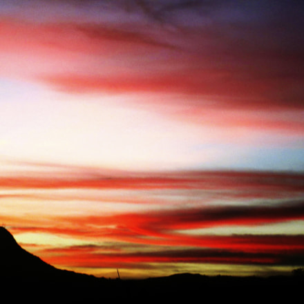 Sunset in Arbelaez, Colombia, Canon POWERSHOT A810