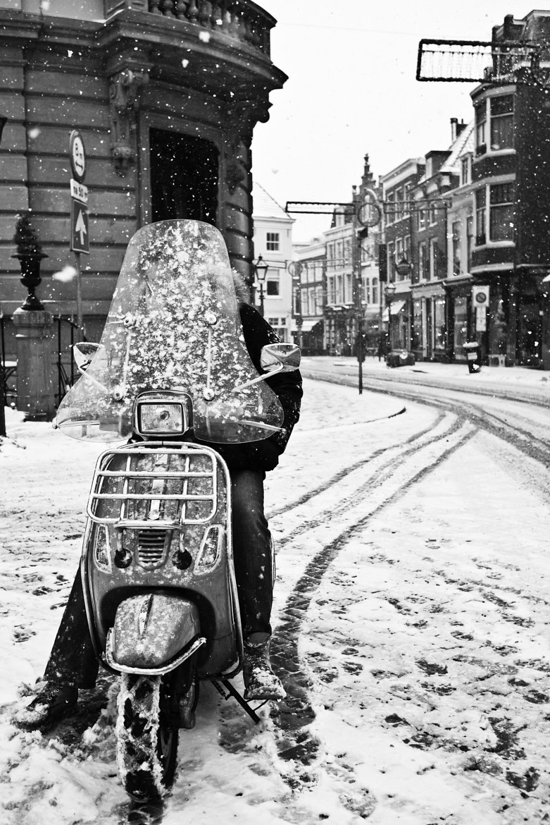 Photograph snow scooter by Fokko Muller on 500px