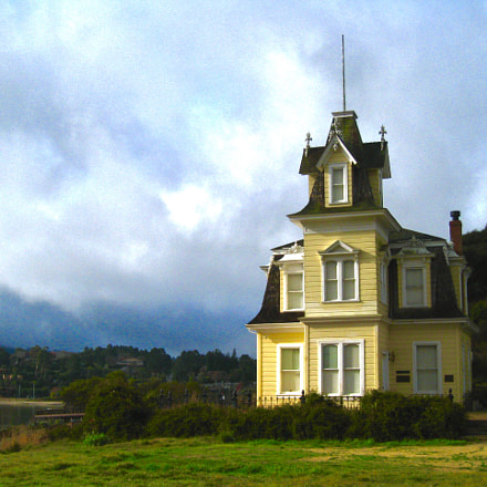 Lyford House, Tiburon, California 2012, Canon POWERSHOT SD870 IS