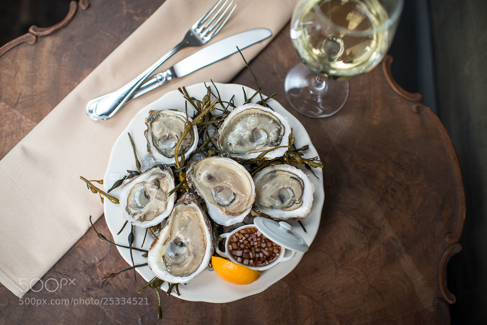 Photograph Oysters by Daniel Krieger on 500px