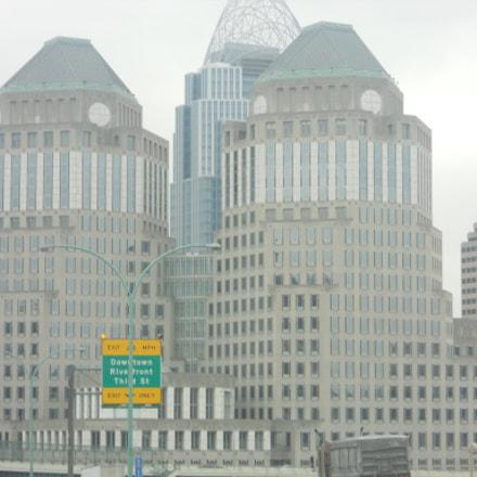Downtown Cincinnati....few years back, Nikon COOLPIX S4000