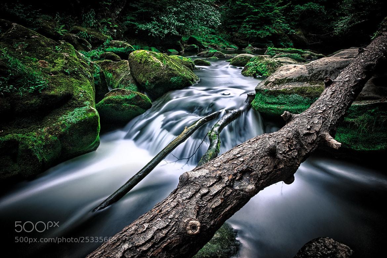 Photograph Waterfall by Johann Kumbeiz on 500px