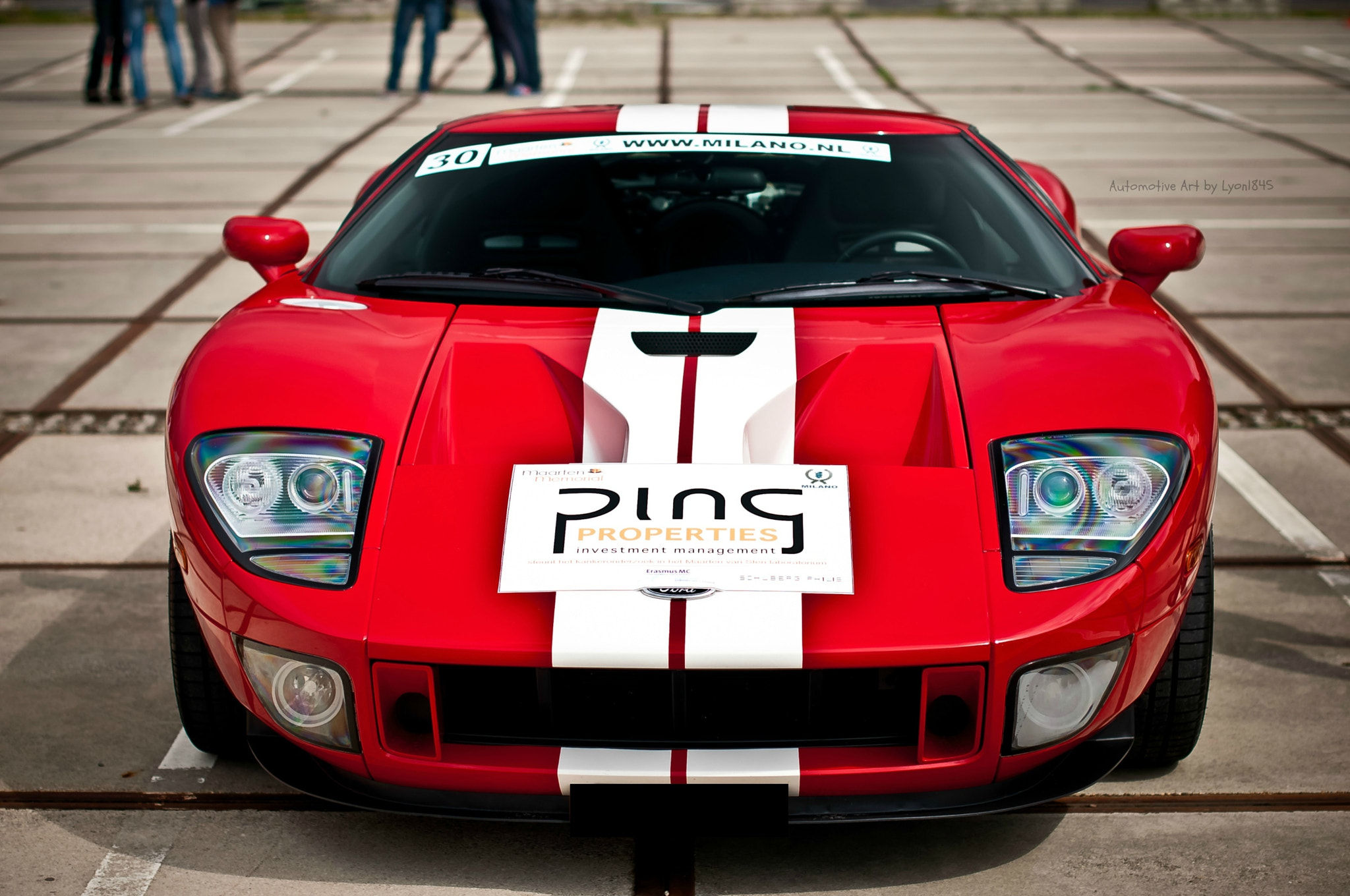 Photograph Ford GT by lyon1845 on 500px