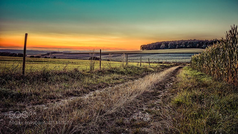 Photograph Fire Sunset by Johann Kumbeiz on 500px