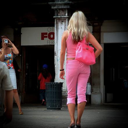 pink lady, Fujifilm FinePix S304