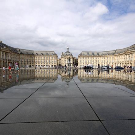 Place du miroir bordeaux, Canon EOS 50D, Sigma 10-20mm f/4-5.6