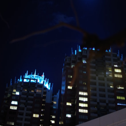 Tokyo bay  ODAIBA  night., Pentax K-30