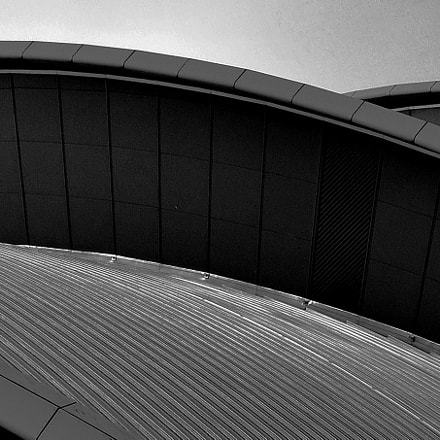 Architectural Abstract, Nikon D90, Tamron AF 18-270mm f/3.5-6.3 Di II VC LD Aspherical (IF) Macro (B003)