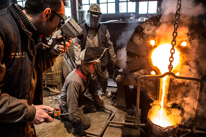 Photograph Metal casting by Vincent M. on 500px