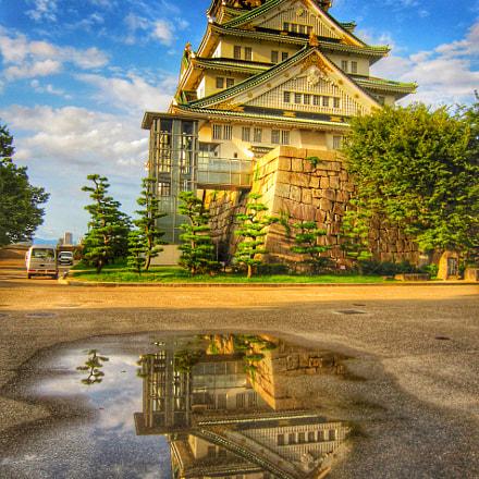 大阪城, Canon IXY DIGITAL 930 IS