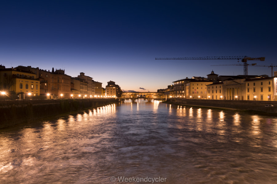 Ponte Santa Trinita by weekendcycler1015 on 500px.com