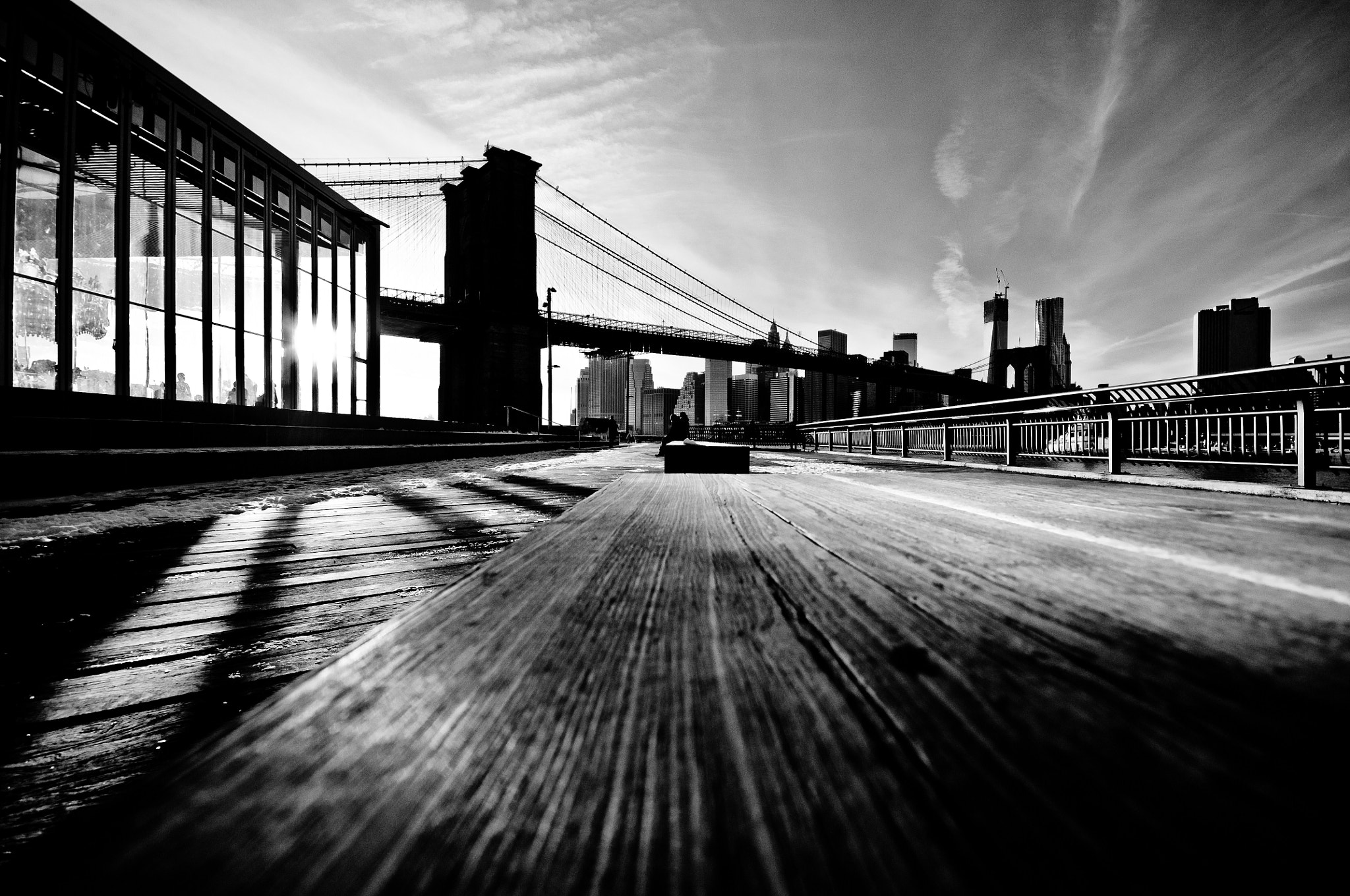 Photograph Brooklyn Bridge (Heights view) by Nabil BACHIR-CHERIF on 500px