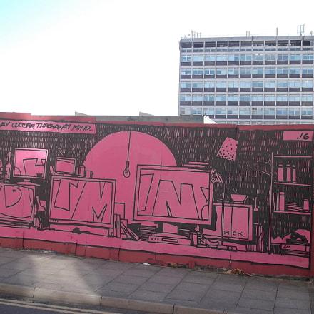 Red Room Batman Graffiti, Fujifilm FinePix JV250