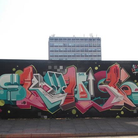 Sky High Graffiti By, Fujifilm FinePix JV250