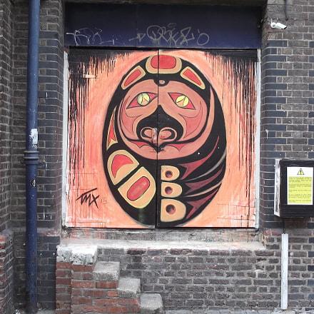 Bird Faced Graffiti Near, Fujifilm FinePix JV250