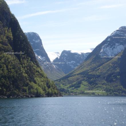 Aurlandfjorden, Sony DSC-T500