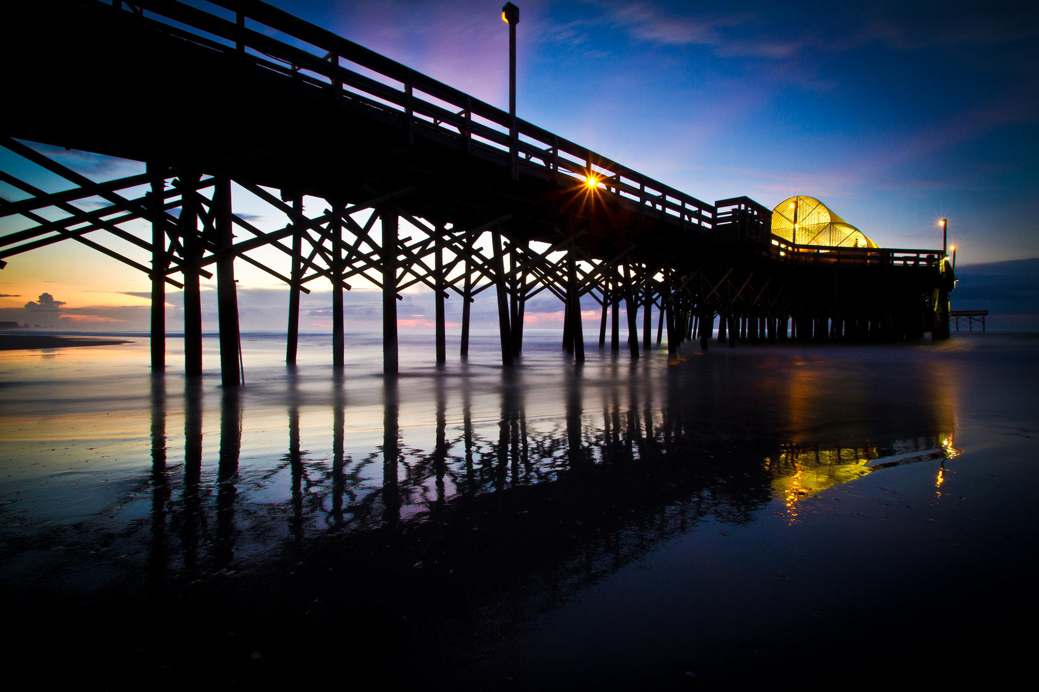Photograph Apache Pier by Scott Turnmeyer on 500px