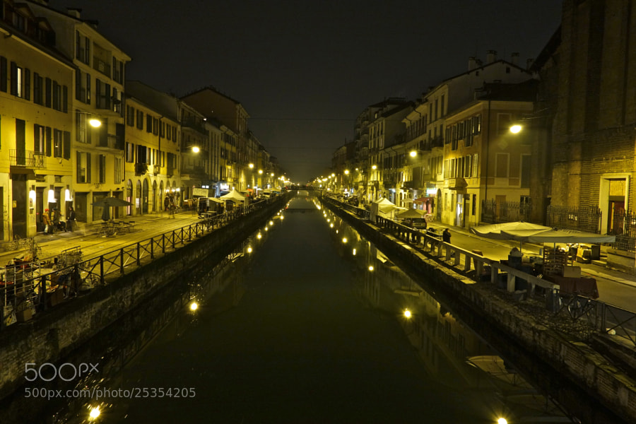 Photograph River lights by Andrea Alessandro Benvenuti on 500px