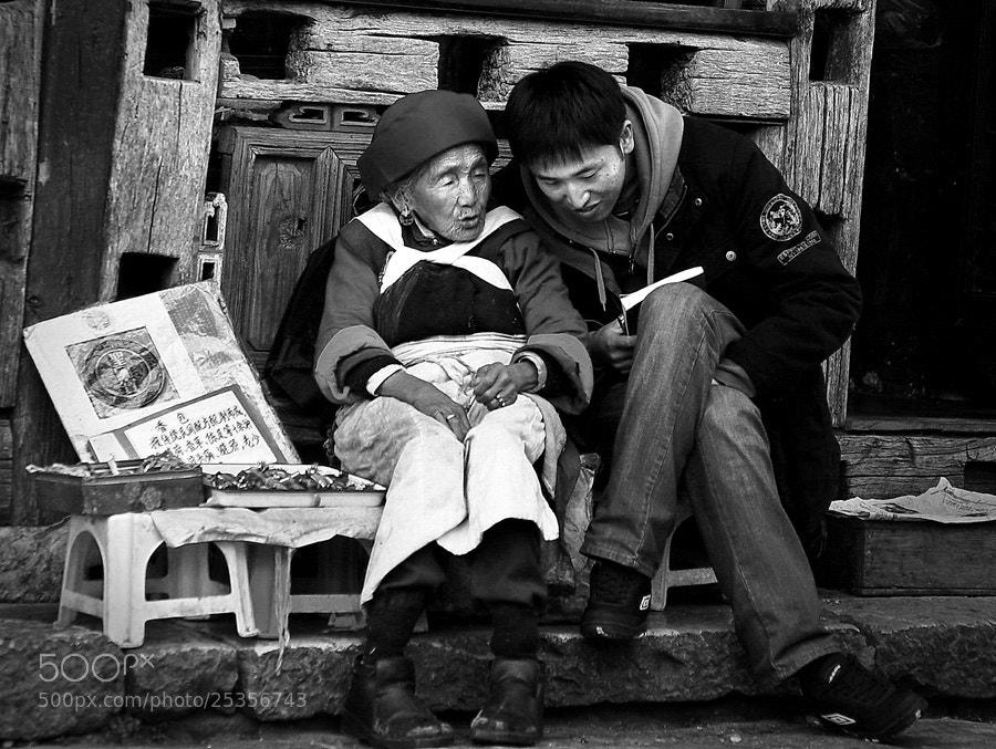 Photograph Grandma Advice by Samuel Lie on 500px