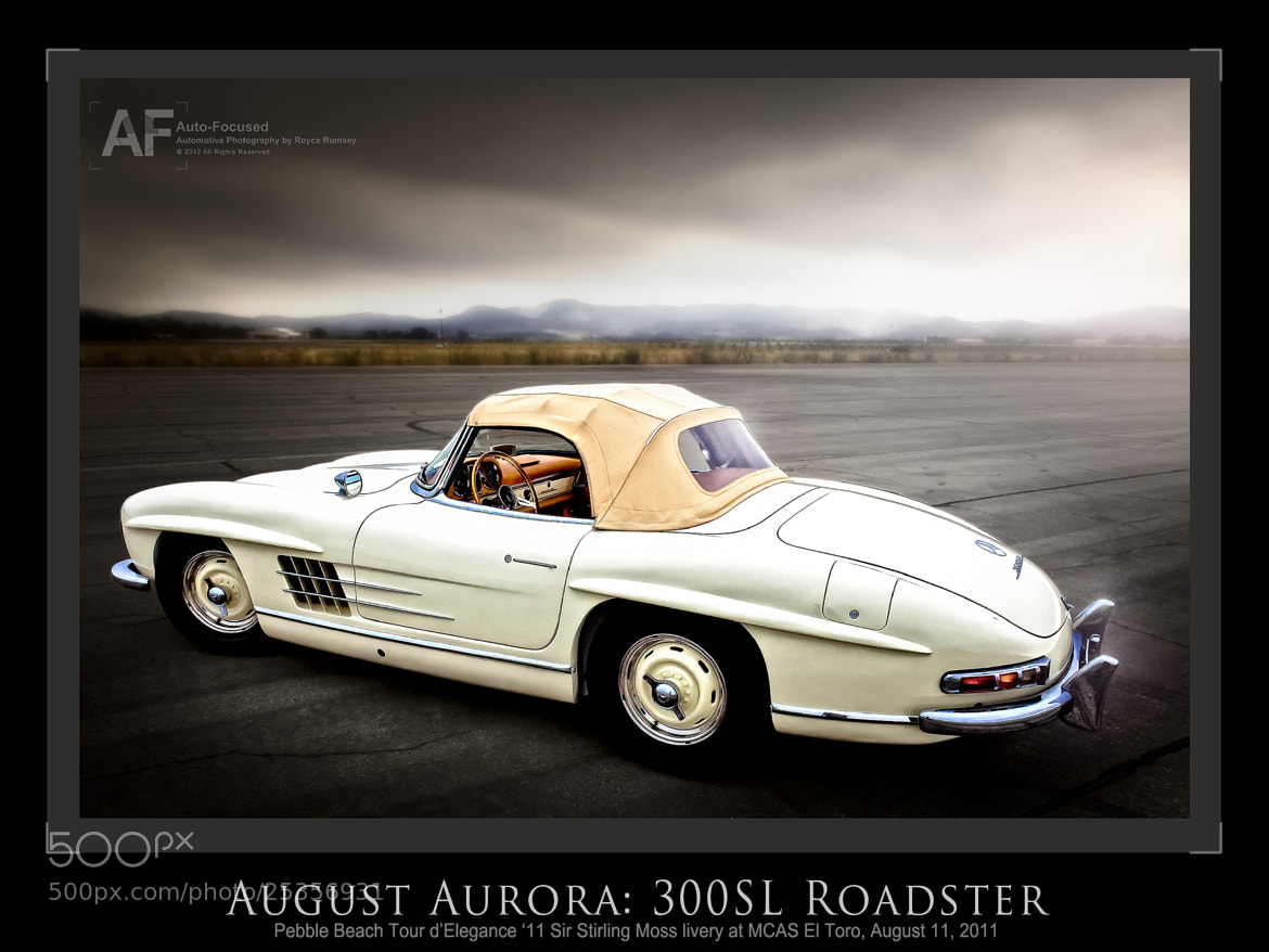 Photograph August Aurora: 300SL Roadster by Royce Rumsey on 500px