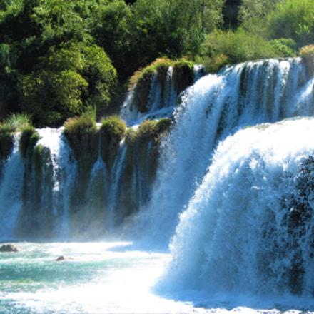 Waterfalls Krka,Croatia., Canon POWERSHOT A1100 IS