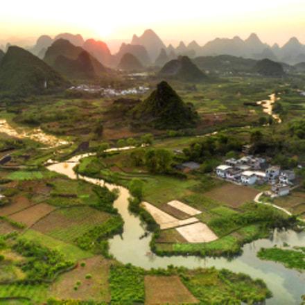 Yangshuo Sunset, Panasonic DMC-TZ61