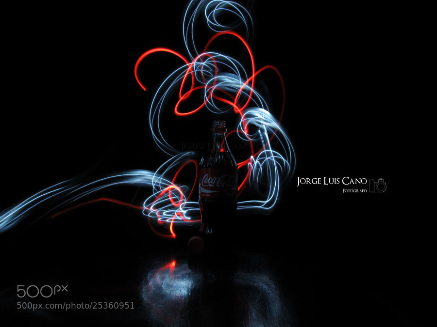 Photograph CocaCola Light Graffiti by Jorge Cano Méndez on 500px
