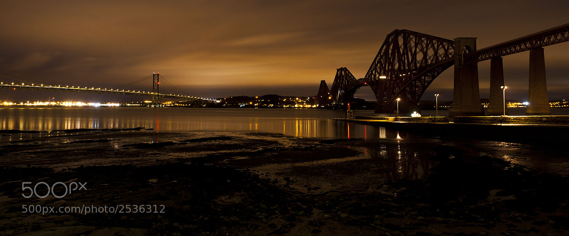Photograph Forth Bridges by Ian Potter on 500px