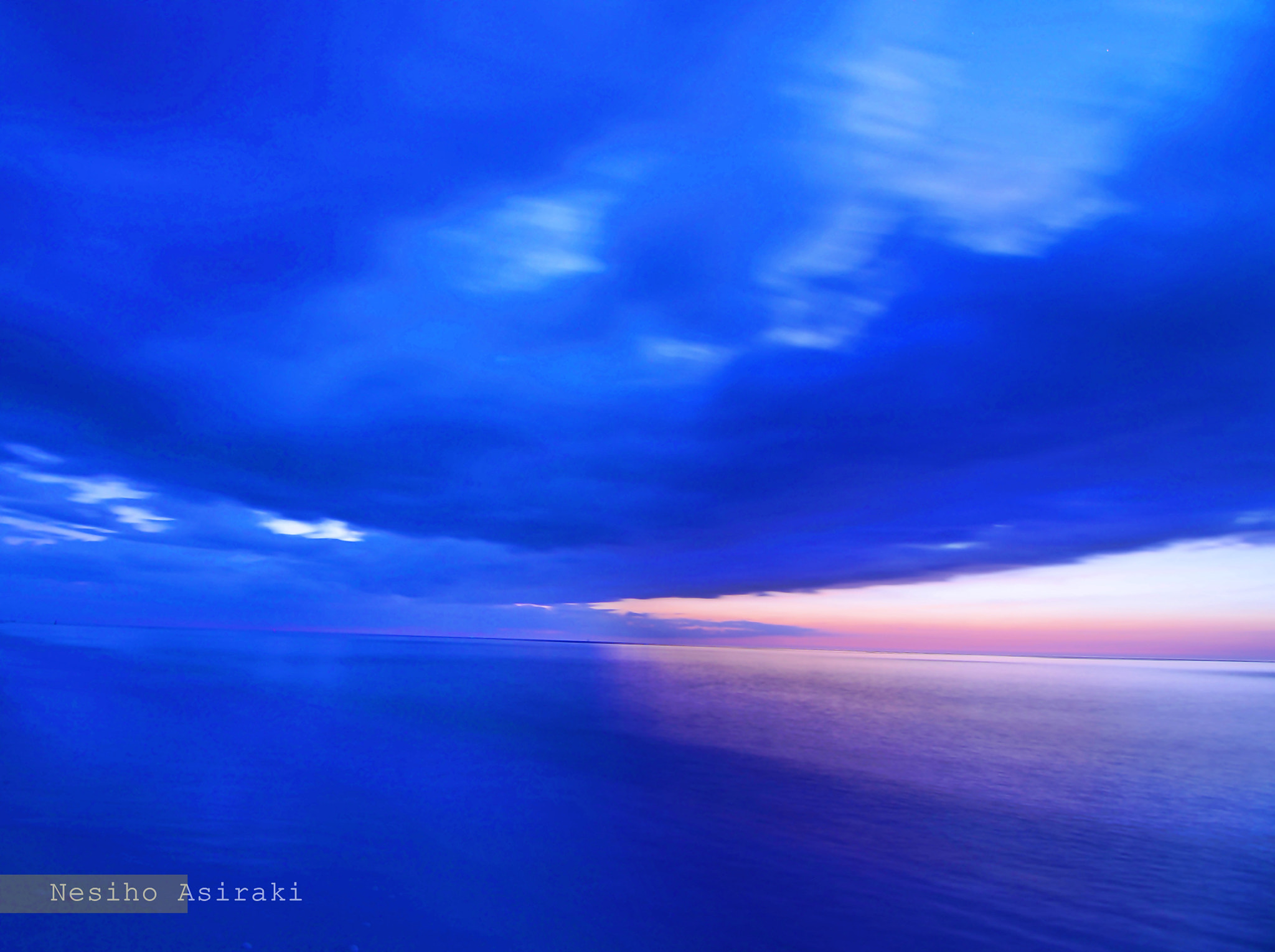 Photograph The Colors Of Sea At Night by Nesiho  Asiraki on 500px