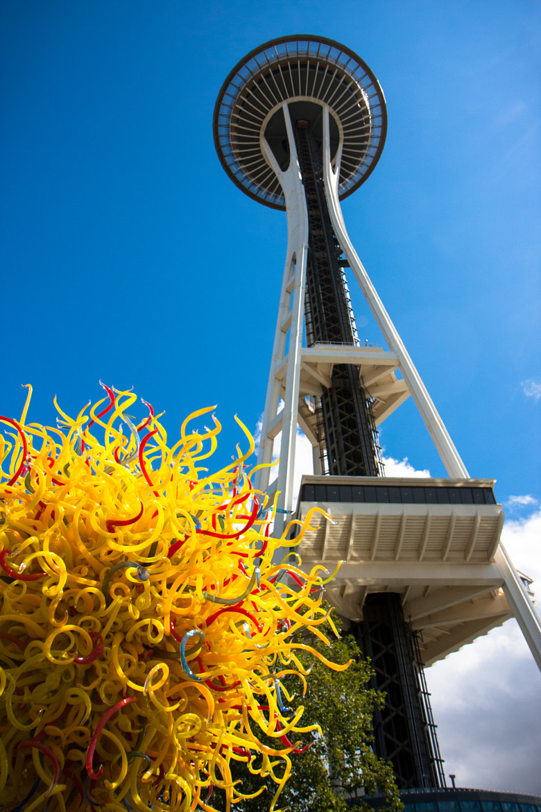 Photograph needle and chihuly by James Hong on 500px