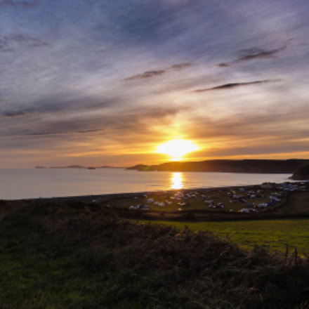 Newgale Sunset, Sony DSC-HX5V