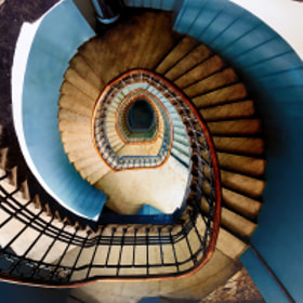Twisted Staircase by Sergey Alimov on 500px.com