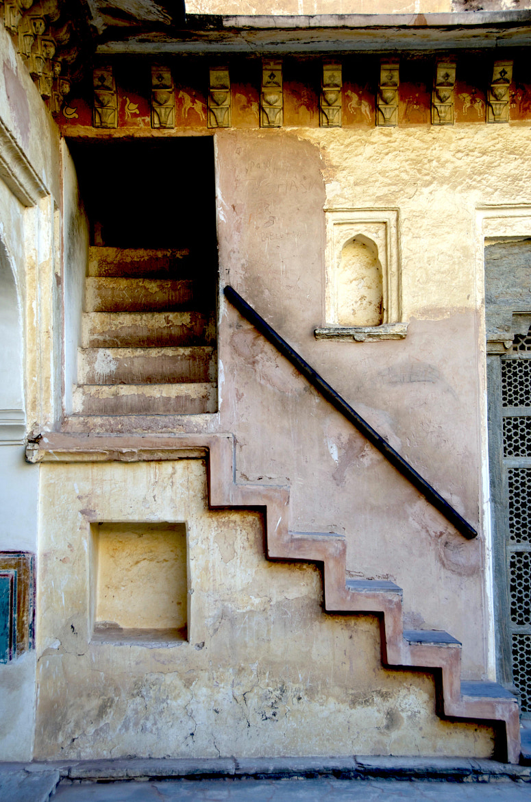 Photograph Jaipur Stairs by Alejandro Muhech I. on 500px
