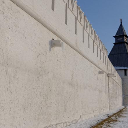 fortress wall, Nikon D90, AF-S DX Zoom-Nikkor 18-70mm f/3.5-4.5G IF-ED