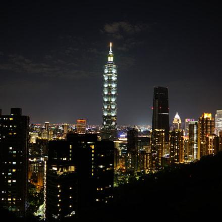 Night Skyline, Sony ILCA-77M2, Sony DT 16-50mm F2.8 SSM (SAL1650)