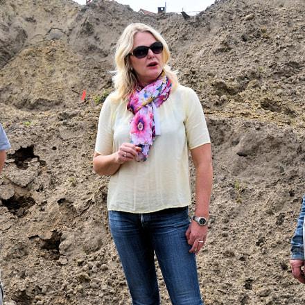 Archeologische vondst opnieuw begraven
