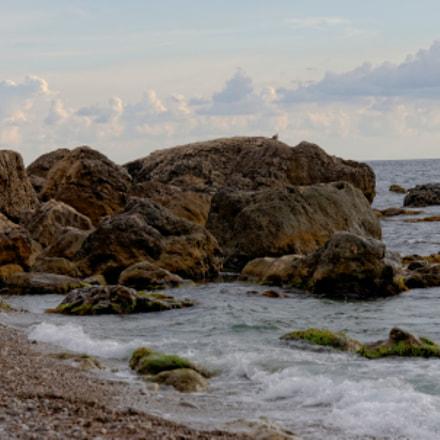Пляж, Nikon D90, AF-S DX Zoom-Nikkor 18-70mm f/3.5-4.5G IF-ED
