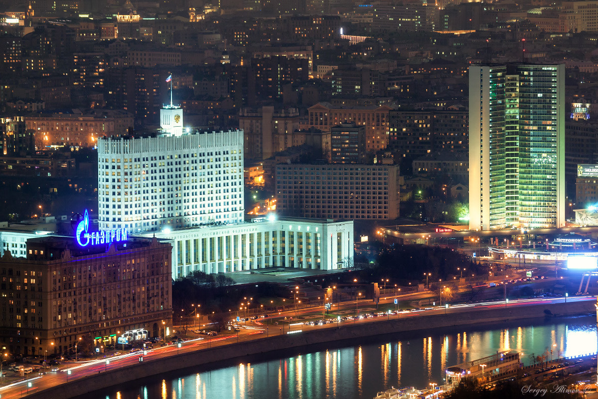 Photograph  Government Buildings in Moscow by Sergey Alimov on 500px