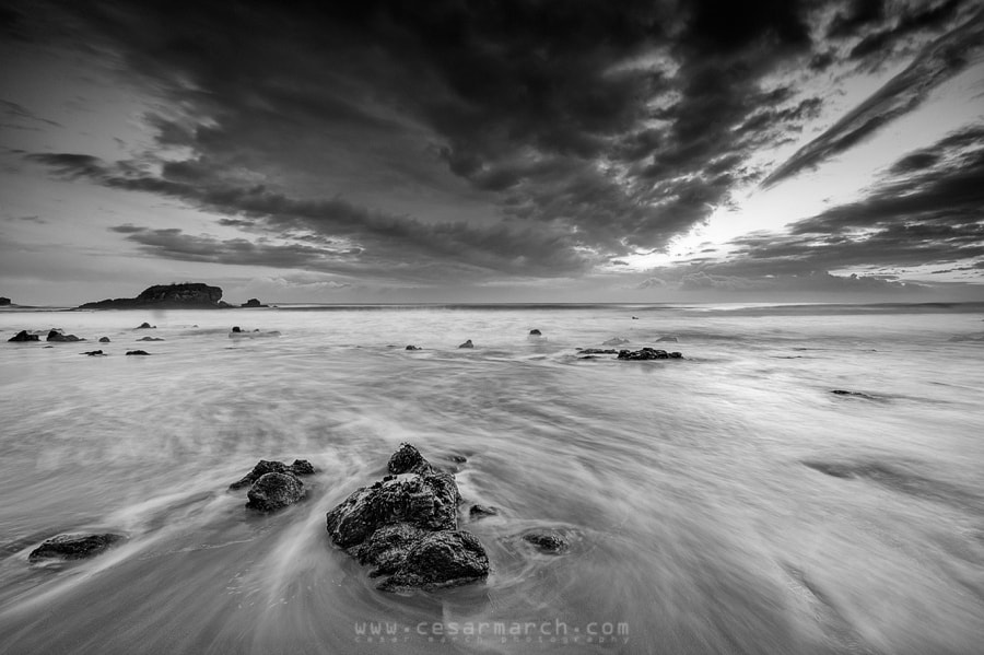 Photograph Sunrise B&W by Cesar March on 500px