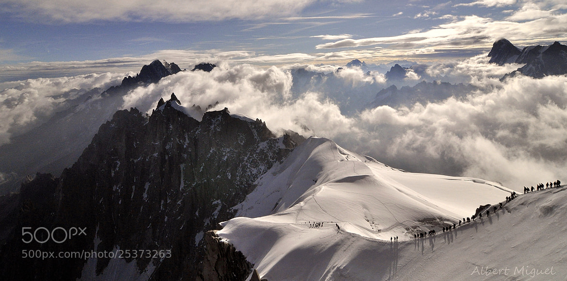 Photograph Summits by Albert Miguel on 500px