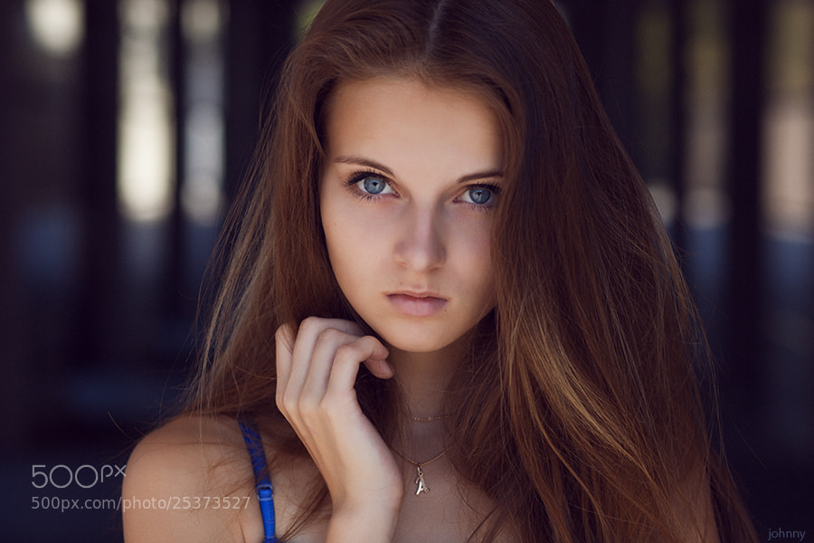 Photograph Anastasia by  Evgeny Kuznetsov on 500px