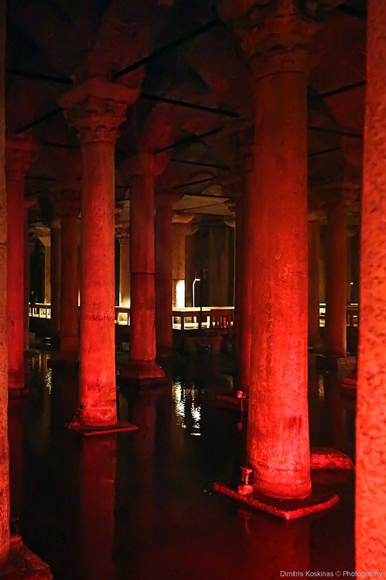 Photograph Τhe basilica cistern istanbul  by Dimitris Koskinas on 500px