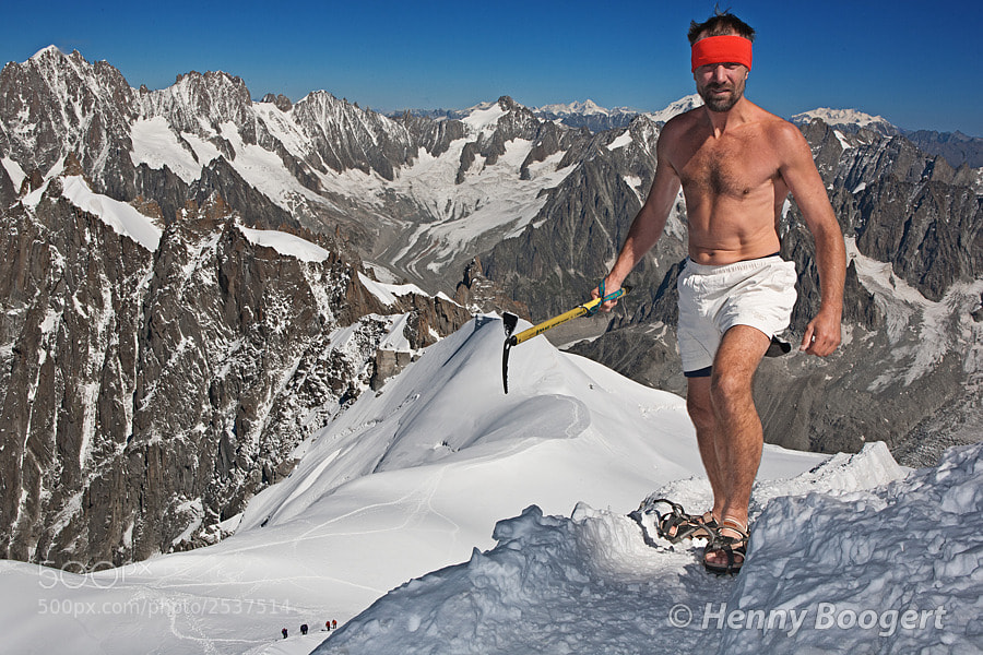 Photograph Wim Hof - Iceman by Henny Boogert on 500px: 500px.com/photo/2537514
