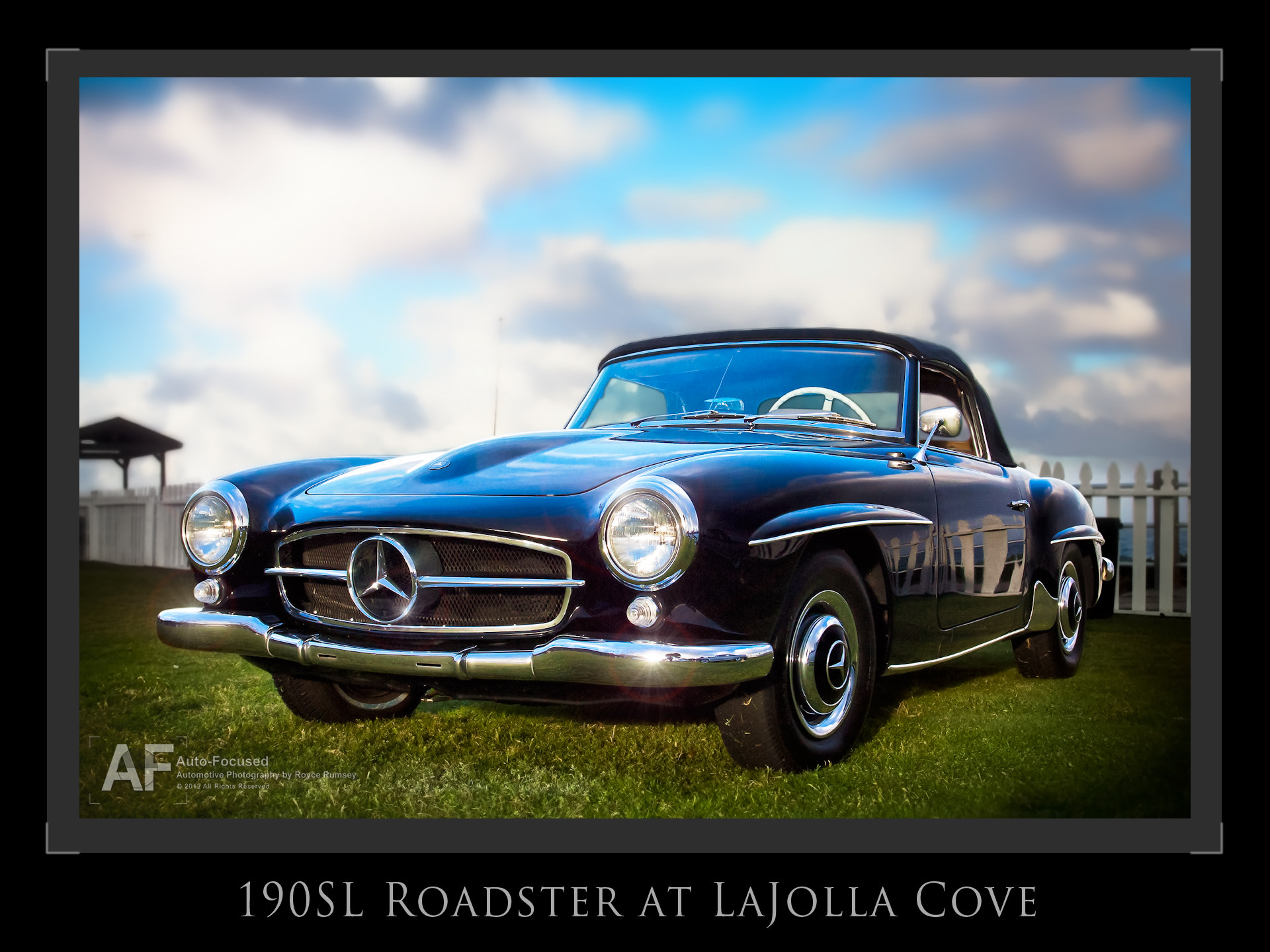 Photograph Morning Sunlight on a 190SL at La Jolla Cove by Royce Rumsey on 500px