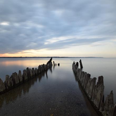 Sunset. Rewa. Baltic sea., Nikon D5300, Sigma 10-20mm F3.5 EX DC HSM